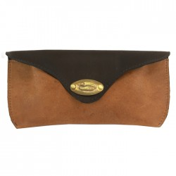 Glasses Case - Duck Plate Leather - By The British Bag Company