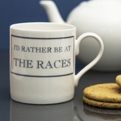 I'd Rather be at the Races Mug