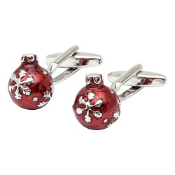 Christmas Bauble Cufflinks