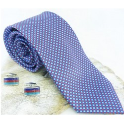 Help For Heroes Luxury Silk Tie and Cufflinks Boxed Gift Set
