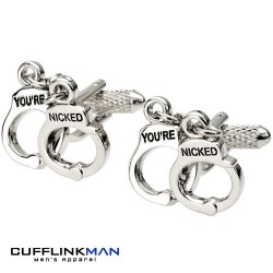 You're Nicked Cufflinks