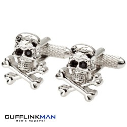 Skull and Cross Bones - Jolly Roger Cufflinks