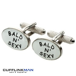 Bald and Sexy Cufflinks