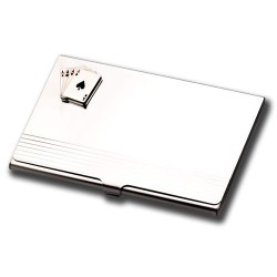 Business Card Holder- 4 Aces