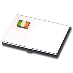 Business Card Holder- Irish Flag