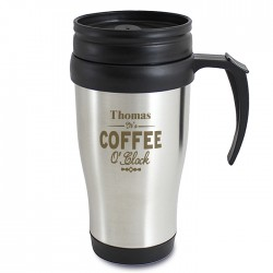 Coffee O'Clock Personalised Travel Mug
