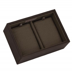 Stackers Brown and Khaki Watch Storage Tray
