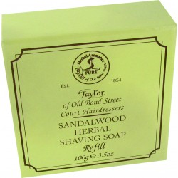 Sandalwood Shaving Soap Refill - Taylor of Bond Street