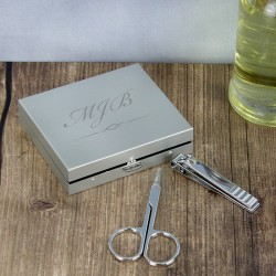 Initials Manicure Set - Personalised Manicure Set